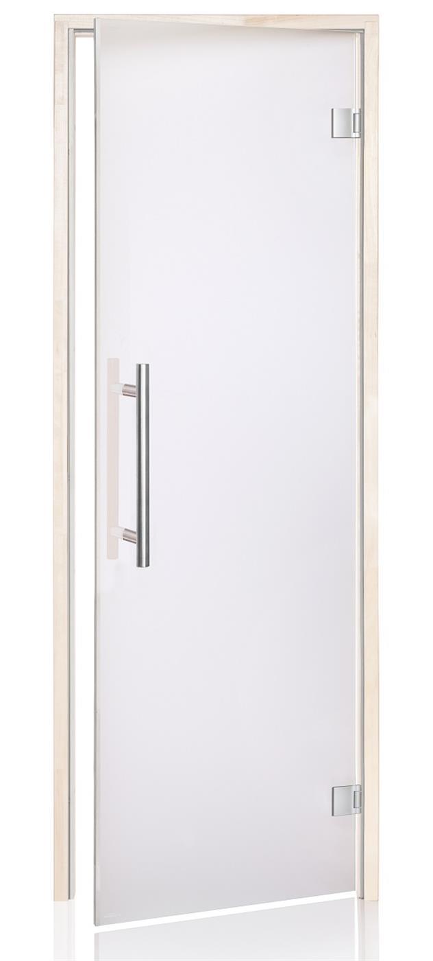 Premium badstudør i bronset glass