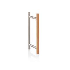 Premium badstudør tre og stål
