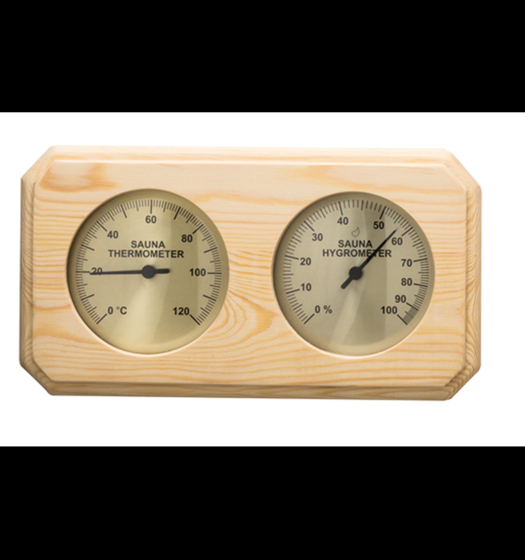 Badstu termo-hygrometer