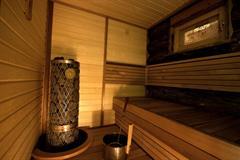IKI Pillar badstuovn 6 kW