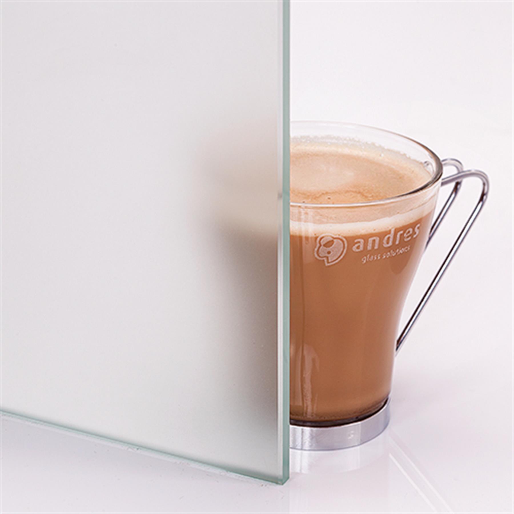 Glass frostet